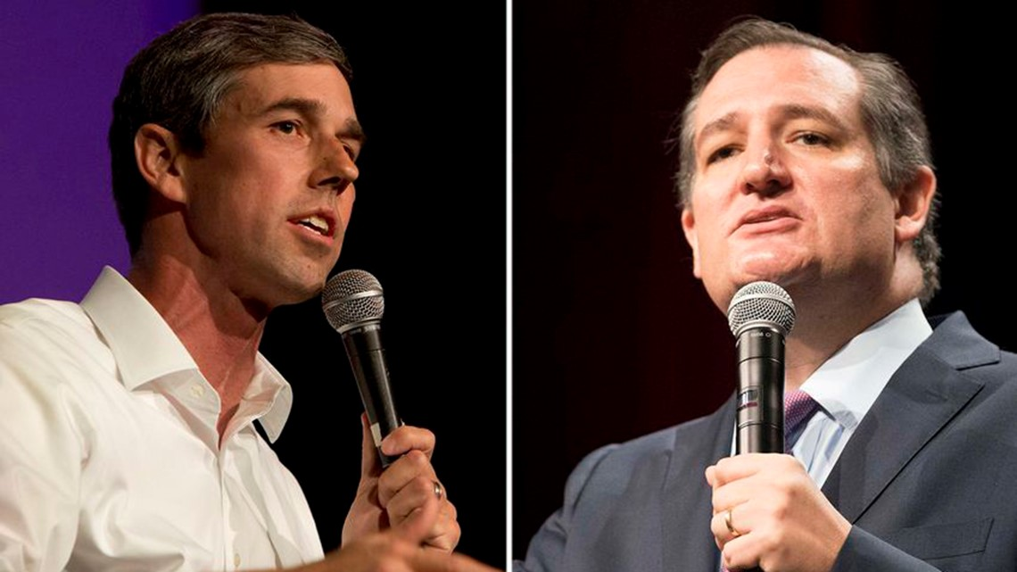 Report: Trump official says U.S. Sen. Ted Cruz could lose to U.S. Rep. Beto O'Rourke