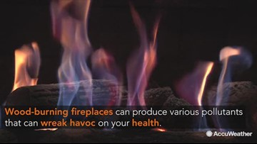 How to protect your health when using a wood-burning fireplace