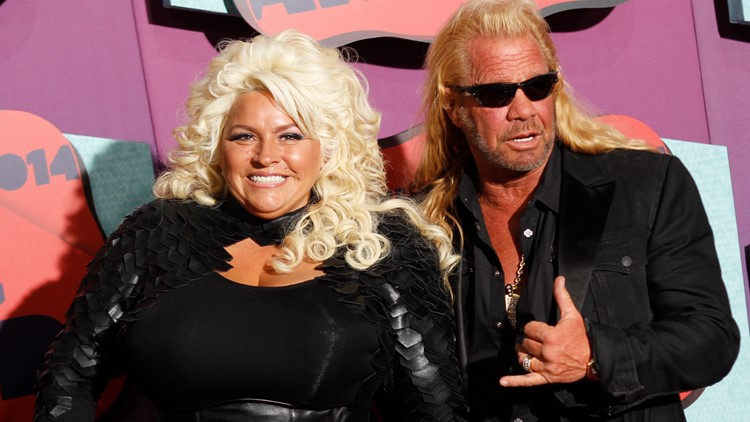 Dog the Bounty hunter and wife Beth Chapman 2014 AP
