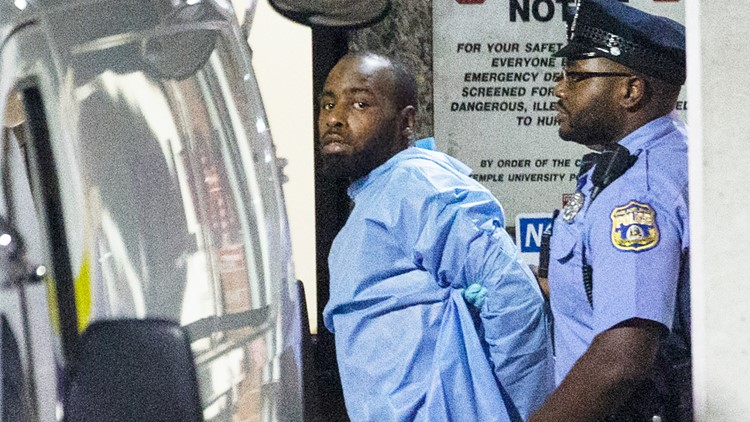 Philadelphia Gunman Standoff Maurice Hill