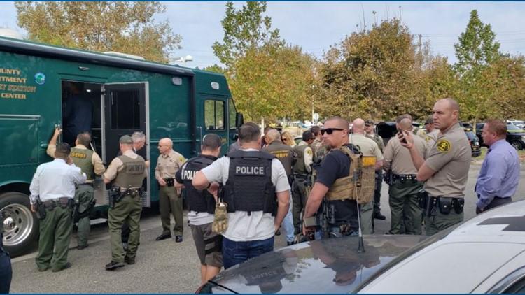 Authorities at southern California shooting