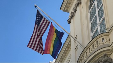 Some US embassies displaying pride flag after reported state department rejections