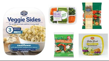 Vegetables sold at H-E-B, Kroger, Walmart, others recalled for possible Listeria contamination