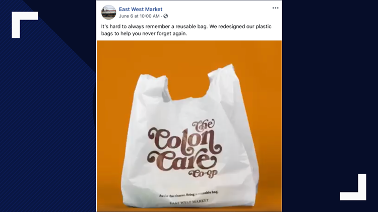 East West Market bags
