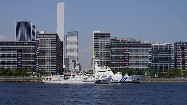 Earthquake strikes off coast of Japan, rattles Tokyo Olympics