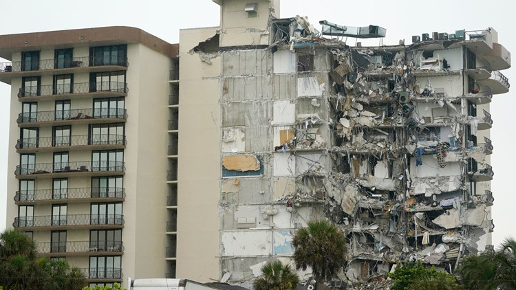 Death toll in Miami-area building collapse rises to 4; 159 remain missing