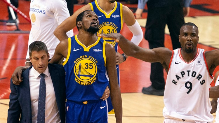 Former Texas Longhorn, Warriors star Kevin Durant undergoes surgery for ruptured Achilles