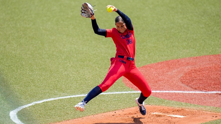 US gets 1st win of Tokyo Olympics, beats Italy in softball opener