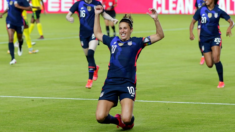 USWNT soccer roster for Tokyo Olympics announced