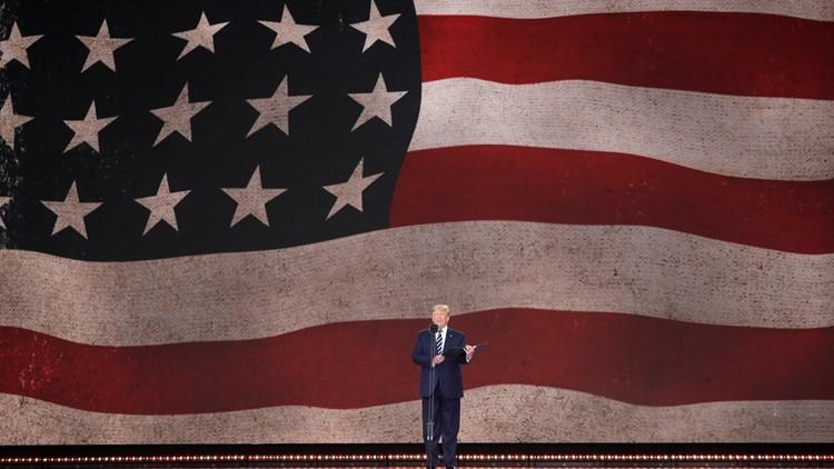 Trump speaks at Britain D-Day Anniversary