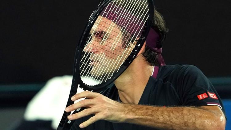 Australian Open Tennis Roger Federer