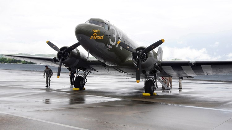 D Day 75th Airplane