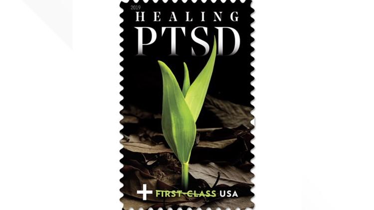 Healing PTSD stamp