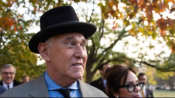 Trump associate Roger Stone guilty of witness tampering, lying to Congress