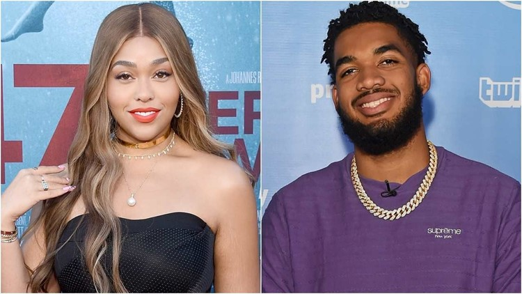 Jordyn Woods Commissions Portrait of Boyfriend Karl-Anthony Towns' Late Mother