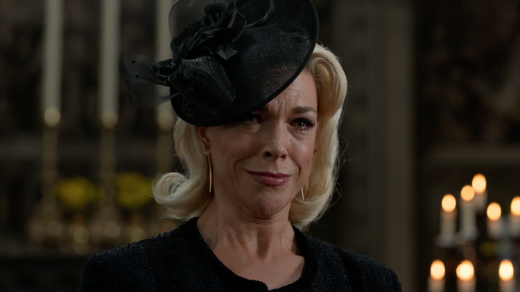 'Ted Lasso': Hannah Waddingham on Why Rebecca's Funeral Rick-Roll Was a Pivotal Moment for Her (Exclusive)