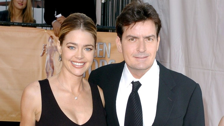 Denise Richards Says She Loves All Of Ex Charlie Sheen S Movies Even This One Where They Conceived Kvue Com