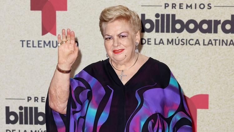 Paquita la del Barrio Gets Emotional Accepting Lifetime Achievement Award at Billboard Latin Music Awards
