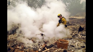 California politicians take Trump to task for threatening to withhold federal fire funds