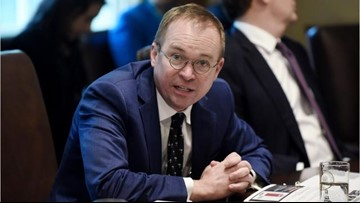 Mick Mulvaney named acting White House chief of staff