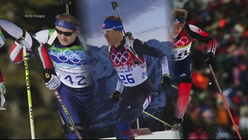 Veteran biathlete is the first U.S. athlete to qualify for PyeongChang