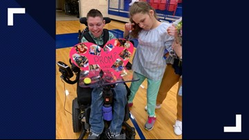 Sweet Promposal: Texas student with special needs pulls out all stops to ask life-long friend to prom