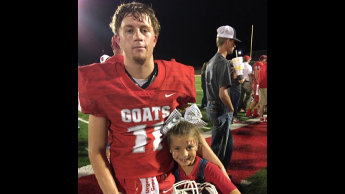 Central Texas high school football player dies after battle with cancer