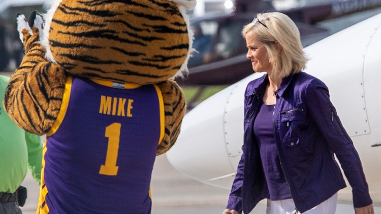 Here's what Kim Mulkey will make as head coach of women's basketball at LSU