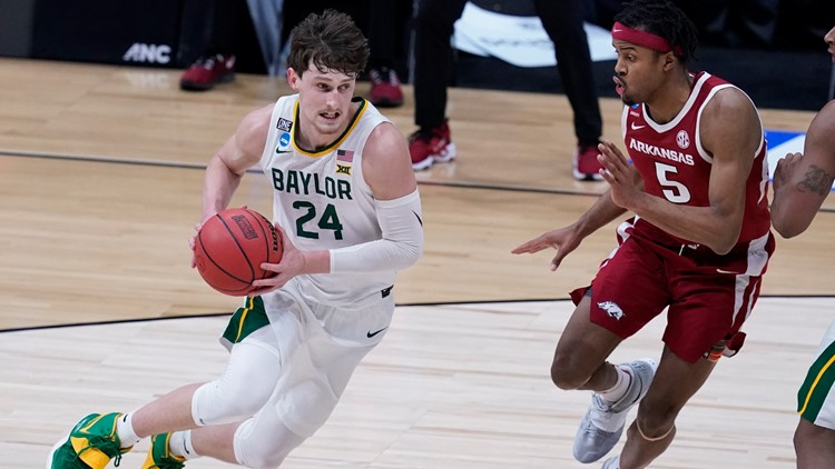 For first time, 2 Texas teams are in the Final Four. It's Baylor's first visit since 1950, Houston's since 1984
