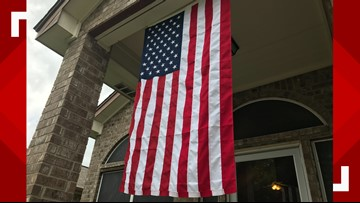 Flag Fight: Killeen HOA threatens to fine soldier if he doesn't take down American flag