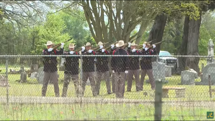 Watch: Full funeral service for Texas DPS Trooper Chad Walker