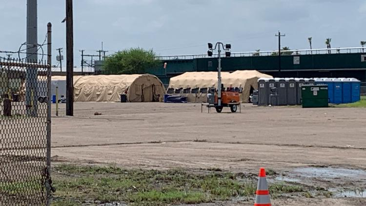 Temporary emergency shelter being built in McAllen to house 'overwhelming number of immigrants stranded'