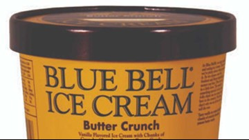 Blue Bell recalling select half-gallons due to plastic found in ice cream