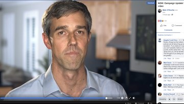 Beto O'Rourke uses nixed debate time slot to shoot ad on Facebook Live