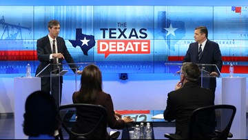 TEXAS DEBATE: Five key moments for Cruz and O'Rourke in San Antonio showdown