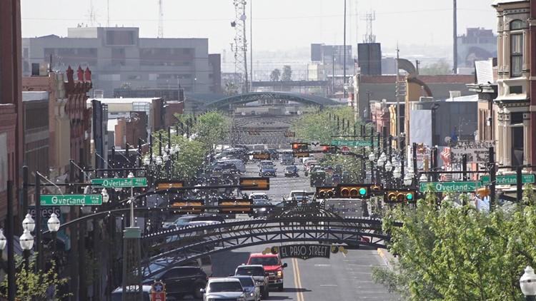 View of downtown El Paso, Texas