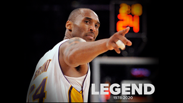 Texas athletes, celebrities, public figures react to reports of Kobe Bryant's death