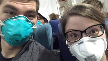 A Texas couple took a honeymoon cruise. Now they're quarantined at JBSA-Lackland