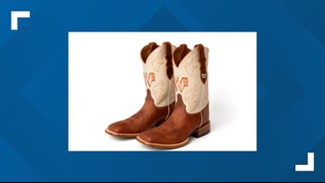 Whataburger's special announcement? Custom Justin boots!