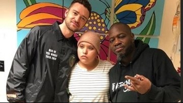 JT visits Methodist Children's Hospital patients in SA after viral campaign