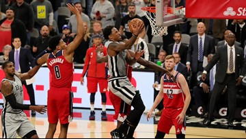 DeRozan layup with 5.5 seconds left gives Spurs 124-122 win over Wizards