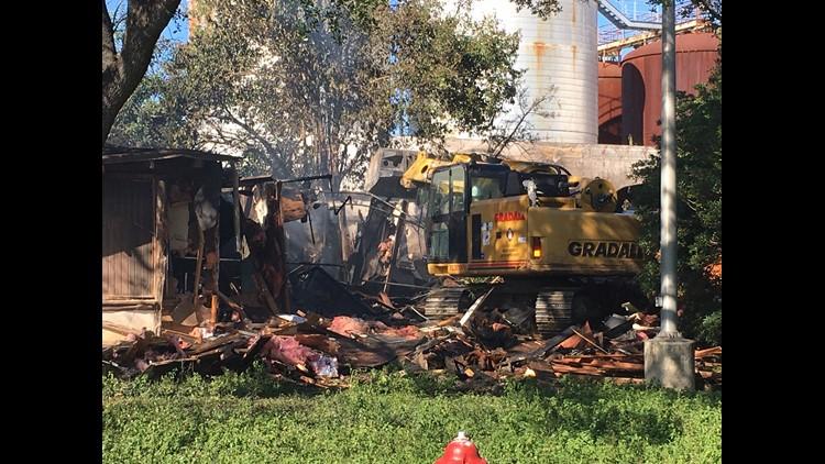 lone star brewsery demolition