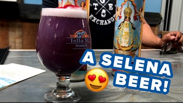 San Antonio brewery debuts Selena-themed beer in honor of the Queen of Cumbia's birthday