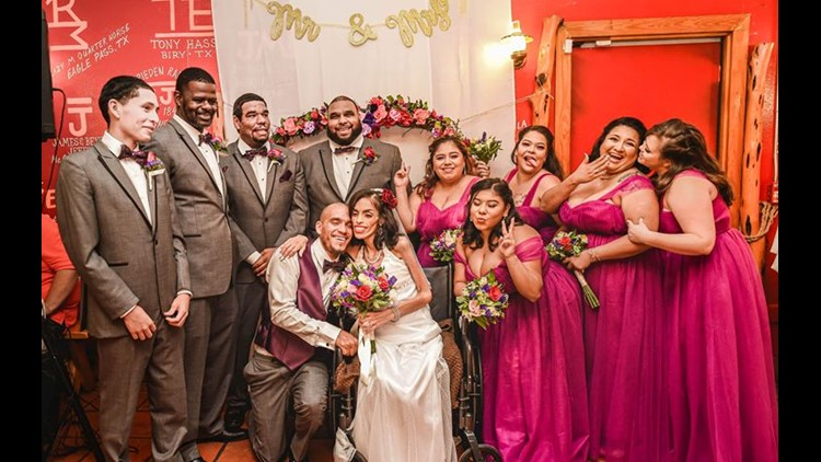 Delvalle wedding day