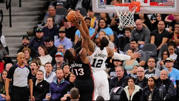 Spurs hang on for hard-fought 107-102 victory against Heat