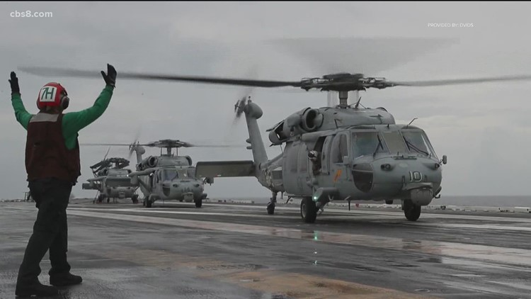 Navy declares 5 missing crew members deceased after helicopter crash off coast of California, shifts to recovery mission