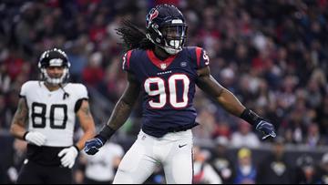 Reports: Texans trade LB Jadeveon Clowney to Seattle Seahawks
