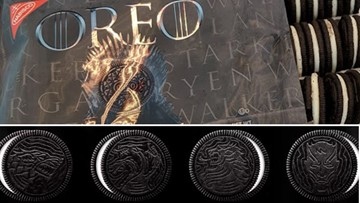 Oreo unveils Game of Thrones cookies #ForTheThrone and for the win