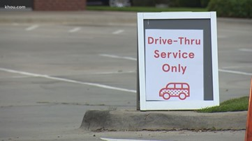 Austin converts on-street parking spots into food pick-up zones to help restaurants offering takeout