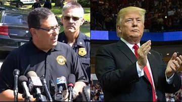 Chief Acevedo challenges Trump on 'rat' and 'witch hunt' tweet